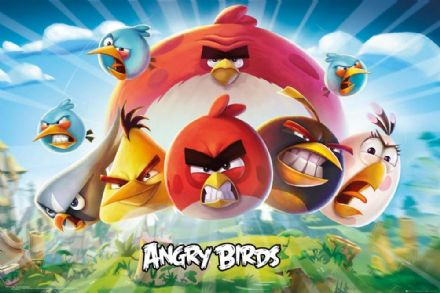 Angry Birds 3 61x91,5cm Poster